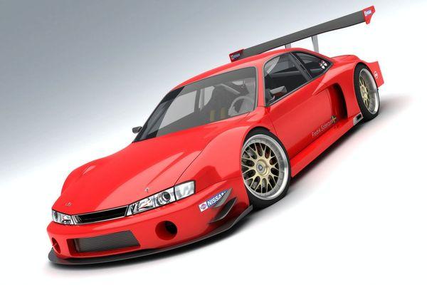 Design :  Nissan 200 SX GT500 par Vizualtech