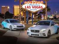 La prochaine Mercedes Classe E restylée photographiée à Las Vegas