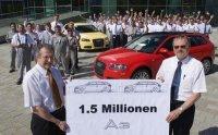 1.5 millions d'Audi A3 produites