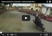Tourist Trophy d'Amérique du Sud? Voici l'Insane racing from Colombia (Motovelocidad Del Valle) en vidéo