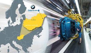 BMW ouvre une nouvelle usine en Hongrie