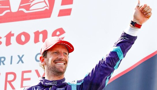 "Romain Grosjean, ""rookie"" de l'année en IndyCar?"