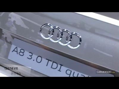 Audi A8 au salon de Geneve