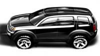 Détroit 2008 : Honda Pilot Concept