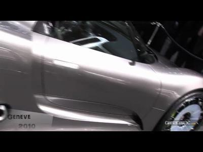 Porsche 918 Spyder au salon de Geneve