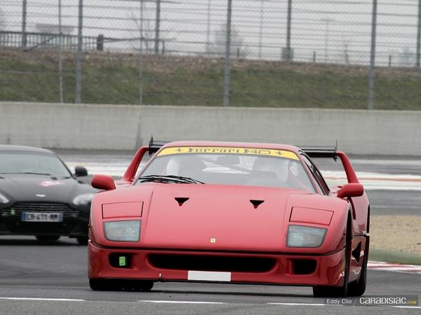 Photos du jour : Ferrari F40 Type LM (Rallye de Paris)