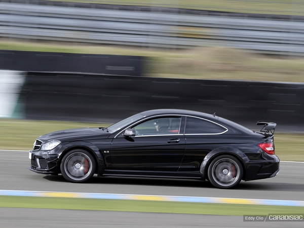 Photos du jour : Mercedes C63 AMG Black Series (SRSOrganisation)