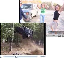 Vidéos débiles : 4 filles prennent leur pied en sautant (et 1 gars aussi) !
