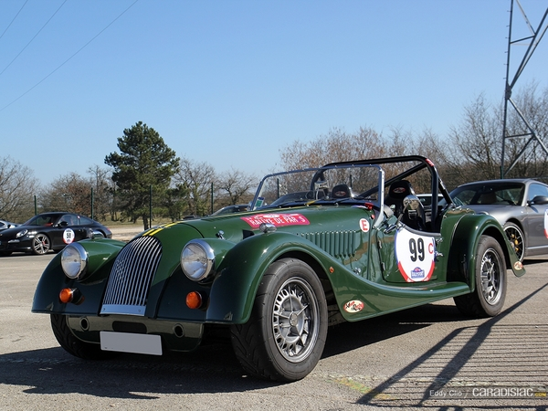 Photos du jour : Morgan Plus 4 (Rallye de Paris)