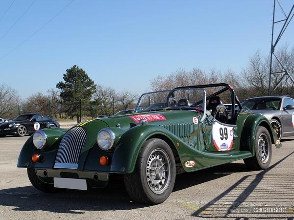 Photos du jour : Morgan Plus 4 (Rallye de Paris)