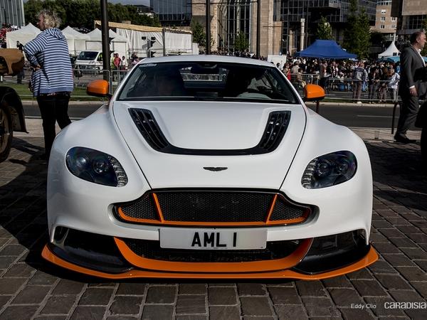 Photos du jour : Aston Martin Vantage GT12 (Parade des Pilotes du Mans)