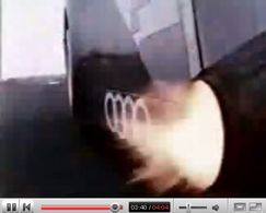 Pub Vidéo: Audi se la pète et ça pète