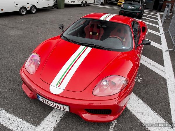 Photos du jour : Ferrari 360 Challenge Stradale (Modena Track Days)