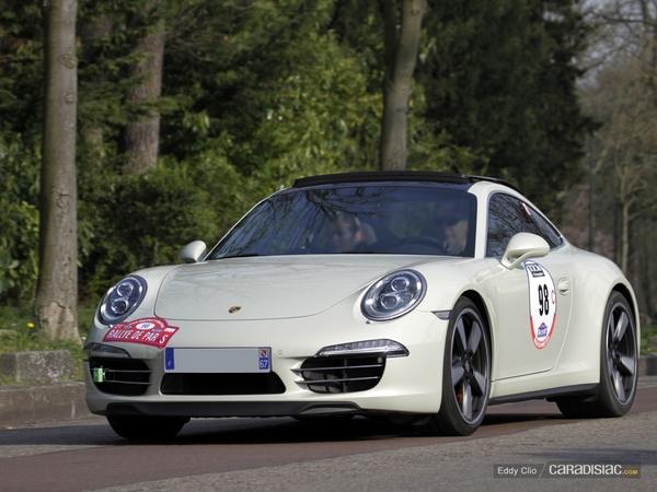 Photos du jour : Porsche 911 991 50eme (Rallye de Paris)