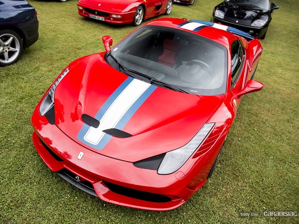 Photos du jour : Ferrari 458 Speciale A (KBRossocorsaday)