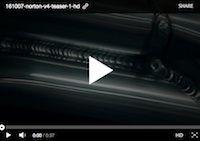 La Norton V4 Superbike en video