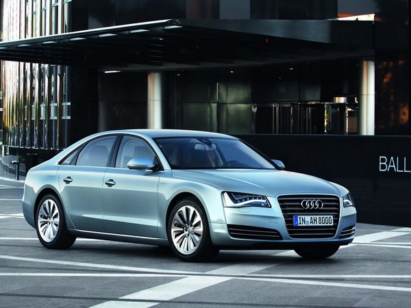 Salon de Francfort 2011 - Audi A8 Hybrid, 4 cylindres, 245 ch et 6.4l/100km