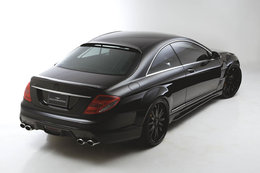 Mercedes CL by Wald International: noir désir