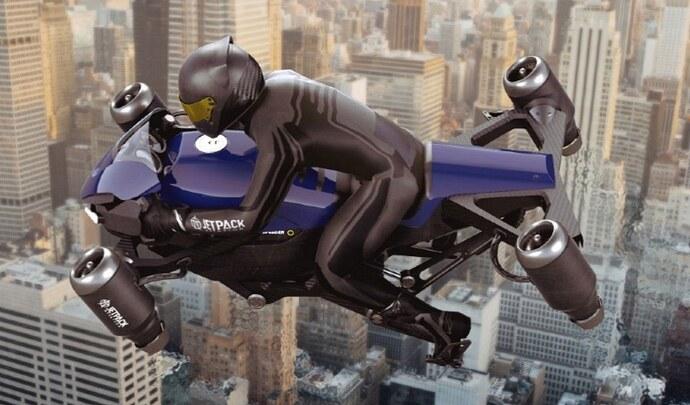 La moto volante JetPack arrive en 2023!