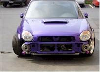 Une Subaru WRX avec 2 turbos...