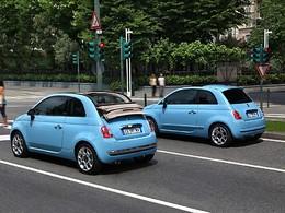 Mondial de Paris 2010 : la Fiat 500 TwinAir