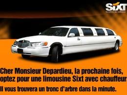 Sixt vole au secours de Depardieu