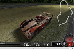 Pilotez l'Audi R10 en ligne