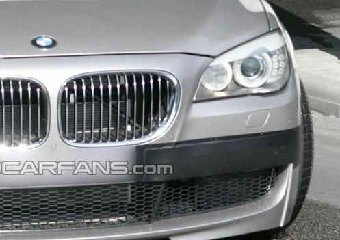 Spyshot : s'agirait-il de la future BMW M7?