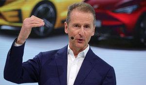 """Le patron de Volkswagen """"favorable"""" à une hausse de taxes sur le CO2 en Allemagne"""