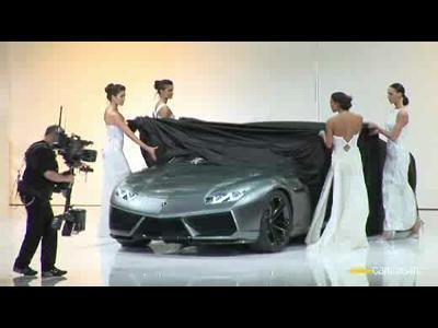 Vidéo Concept Lamborghini Estoque