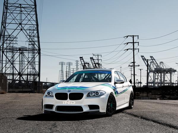 BMW M5 IND, nouvelles photos et dernières évolutions