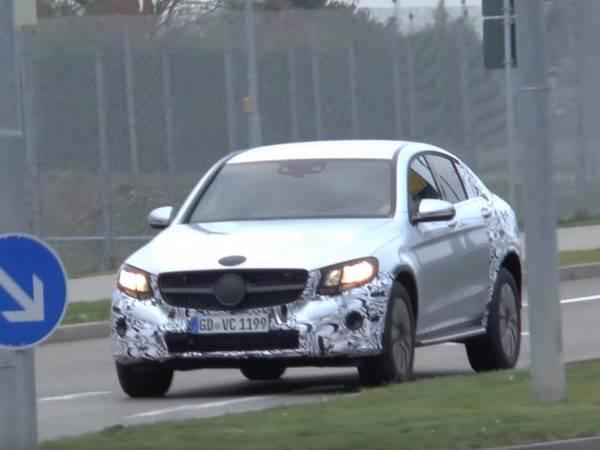 Scoop : le futur Mercedes GLC Coupé prend la route en Allemagne