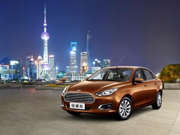 Pékin 2014 : voici la nouvelle Ford Escort de série