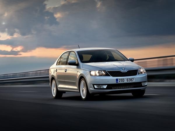 La Skoda Rapid reçue 5/5 à l'Euro NCAP