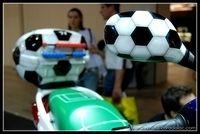 Salon de Milan 2008 - Insolite : Droit au but chez Suzuki !!