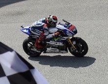 Moto GP – Grand Prix de Malaisie: Jorge Lorenzo a eu très chaud
