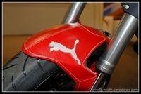 Salon de Milan 2008 - Insolite : Un Monster 696 à l'aise dans ses Puma