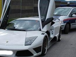 Flashé à 274 km/h en Lamborghini Murcielago IMSA