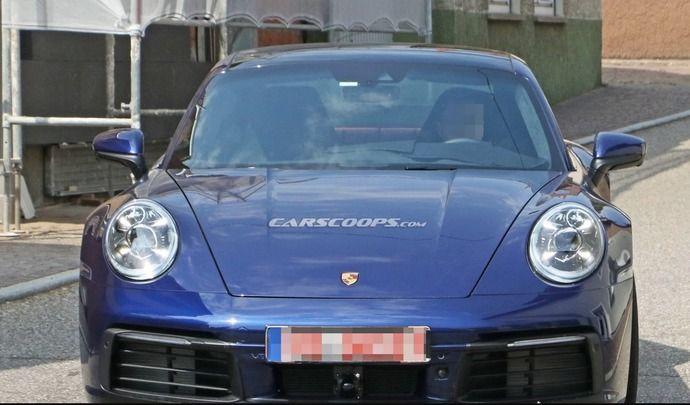 La nouvelle Porsche 911 se montre