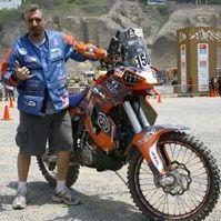 Dakar 2013 : Luis Belaustegui approche du but sur sa petite KTM