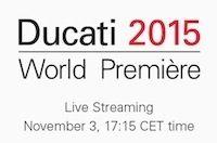 Salon de Milan: les nouveautés Ducati 2015... en direct live