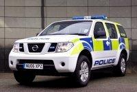 La Police anglaise s'équipe de Nissan Pathfinder