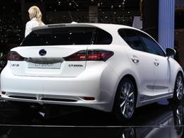 La Lexus CT 200h hybride ? 96 g CO2/km !