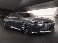Salon de Tokyo 2015 - Lexus officialise le LF-LC concept