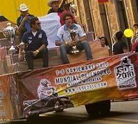 La cérémonie d'ouverture des 85ème ISDE au Mexique, Morelia en fête