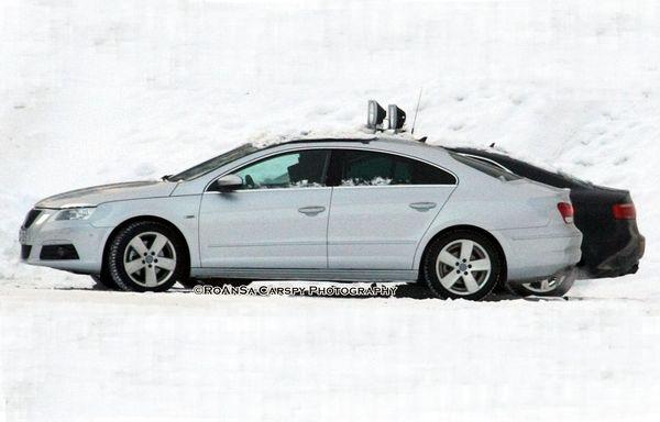 """Future VW Passat """"Coupe"""": presque nue"""