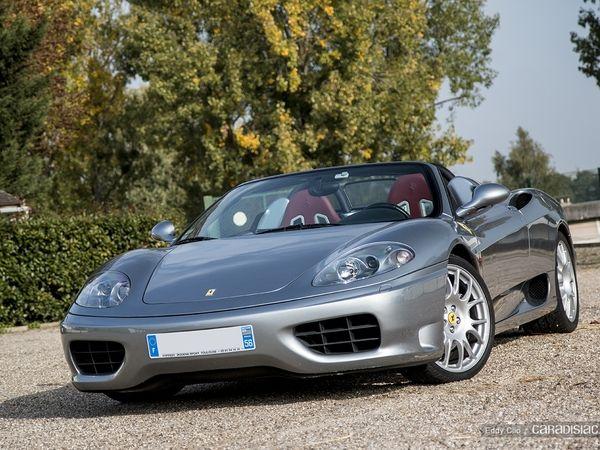 Photos du jour : Ferrari 360 Modena (Cars & Coffee Paris)