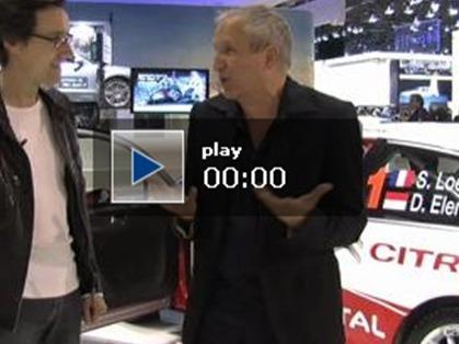 Mondial de l'Auto 2010 - Entretien avec l'écrivain Daniel Foucard