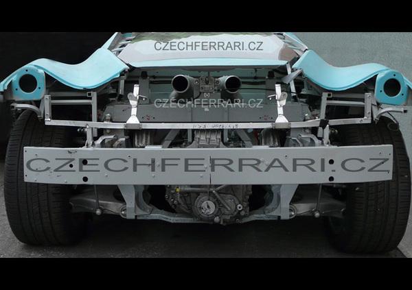 """Future Ferrari """"F450"""" : le moteur en gros plan et probablement 550 ch"""