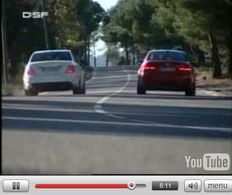 Vidéo : BMW M3 vs Mercedes C63 AMG : ça n'sent pas le brûlé ?